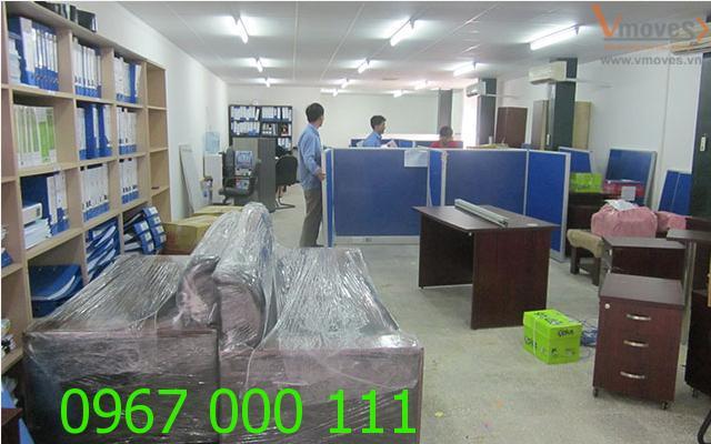 Dịch vụ chuyển văn phòng trọn gói Hà Nội chuyên nghiệp