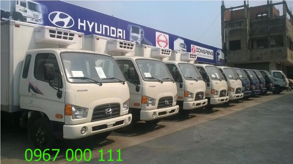 Dịch vụ cho thuê xe tải đông lạnh hiện đại nhất Hà Nội