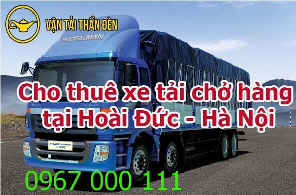 Cho thuê xe tải chở hàng tại Hoài Đức - Hà Nội