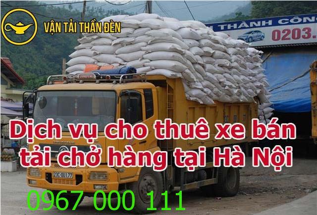 Dịch vụ cho thuê xe bán tải chở hàng Hà Nội