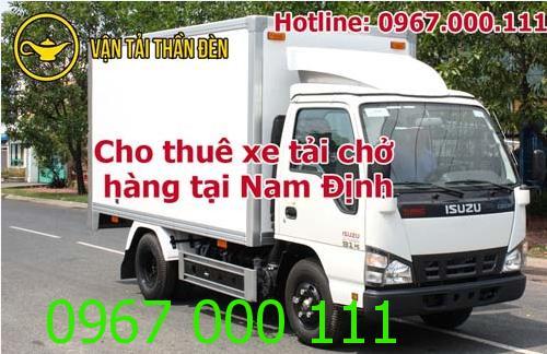 Cho thuê xe tải chở hàng tại Nam Định