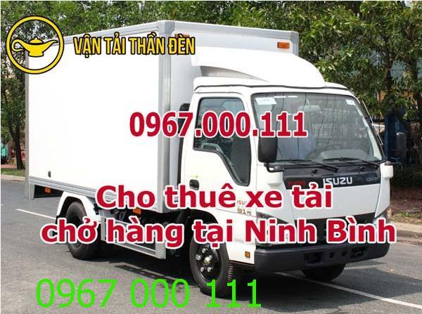 Dịch vụ cho thuê xe tải chở hàng tại Ninh Bình