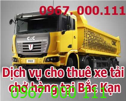 Cho thuê xe tải chở hàng tại Bắc Kạn