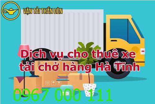 Cho thuê xe tải chở hàng tại Hà Tĩnh