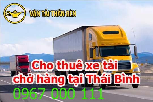 Cho thuê xe tải chở hàng tại Thái Bình