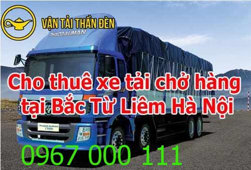 Dịch vụ cho thuê xe tải chở hàng tại Bắc Từ Liêm