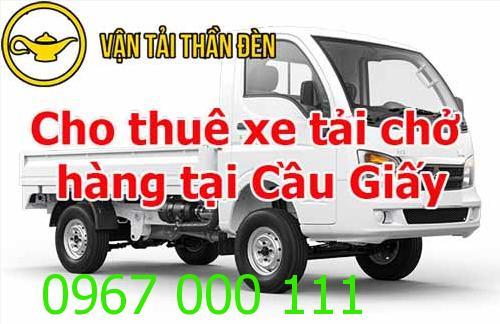 Cho thuê xe tải chở hàng tại Cầu Giấy