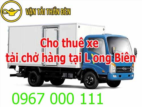 Dịch vụ cho thuê xe tải chở hàng tại Long Biên - Hà Nội