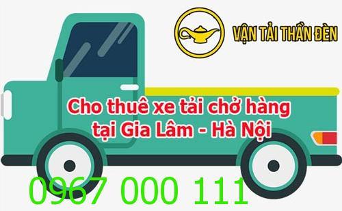 Cho thuê xe tải chở hàng tại Gia Lâm Hà Nội