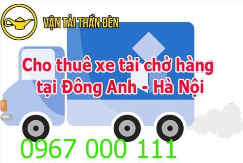 Cho thuê xe tải chở hàng tại Đông Anh