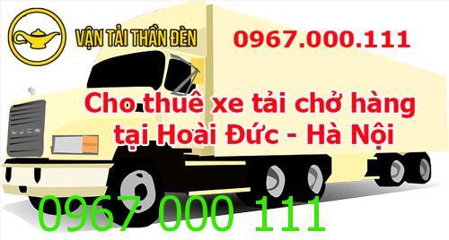 Cho thuê xe tải chở hàng tại Hoài Đức
